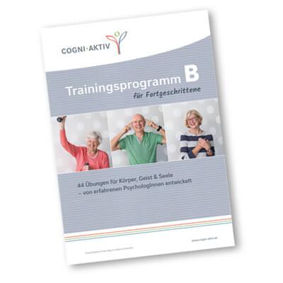 Cover COGNI-AKTIV Trainingsprogramm B für Fortgeschrittene